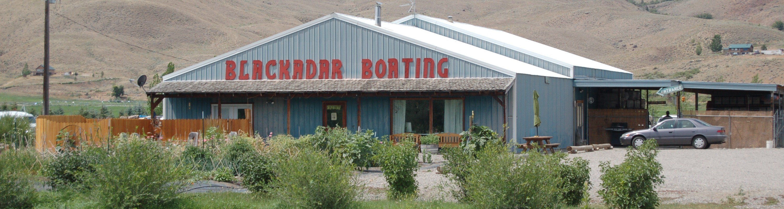 Blackadar Boating Shop on Highway 93 North